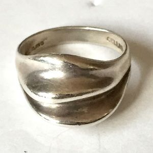 CELLINI Signed Sterling Silver Ring 925 Vintage